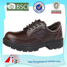 composite toe man leather work shoe safety shoes
