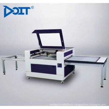 DT10086Máquina de grabado y corte láser de mesa dual con desplazamiento automático no mental