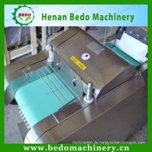 China Lieferant Edelstahl Multi-Funktions-Spinat Schneidemaschine / Blatt Gemüseschneidemaschine 008613253417552