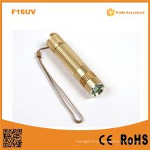 F16UV Detector de Dinheiro 365nm UV LED Lanterna, Lanterna UV LED