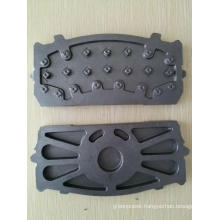 Iron Casting Back Steel Plate For Man Benz
