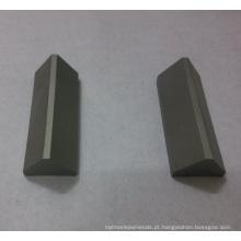 Pontas triangulares personalizadas de carboneto cimentado
