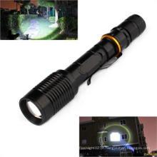 Polícia Alumínio Zoomable levou tocha lanterna