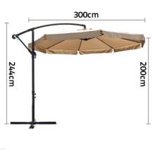 Popular 3m Outdoor Banana Umbrella