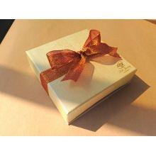 Beautiful Gold Hot Stamping Jewelry Set Box