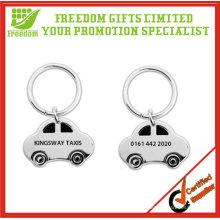 Promotional Car Shape Metal Keyring