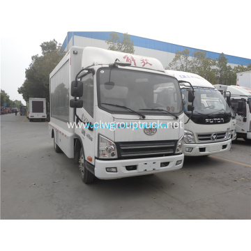 4x2 Manual Transmission Type Mobile Led Screen Vehicles
