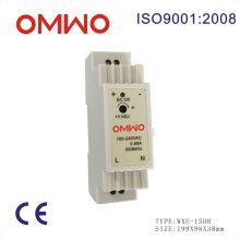Transformador do diodo emissor de luz do trilho 15W do trilho DIN Omwo Wxe-15dr-24