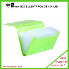 Sac à bandoulière en plastique expansible le plus vendu avec bouton (EP-F0901)