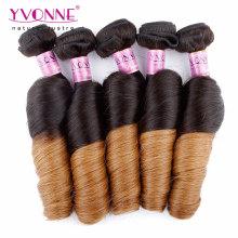 Cheveux humains Ombre Brésilien de couleur deux tons