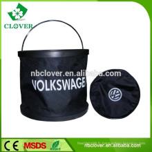 Seau pliable à eau flexible / seaux en plastique avec couvercles / caisses en plastique en gros