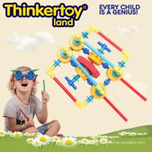 Jouet éducatif éducatif en plastique pour enfants