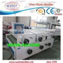 Plancha de mármol de imitación PVC producción fabricación de /extrusion línea /making máquina