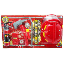 Fire Set with Fire Extinguisher and Helmet and So on