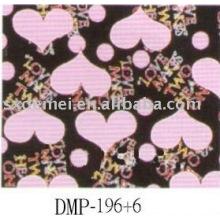 Schmuck Box Stoff - Baumwolle canvas Stoff mit Herzdesign