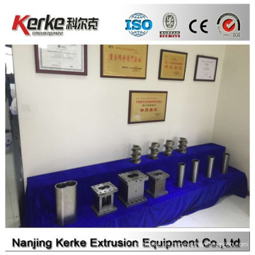 Configuración personalizada profesional W6Mo5Cr4V2 máquina de pelletización de plástico tornillo y barril