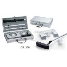 caso de golfe portátil de alumínio com espuma personalizado inserir fabricante