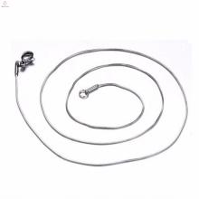 Meilleure vente en acier inoxydable 316L 0.7Mm Silver Snake Chains