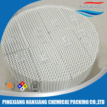 Industry Ceramic Structured scrubber packing for scrubber tower