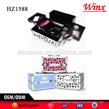 Factory supply professional beauty makeup vanity case , Luxury makeup case from China
