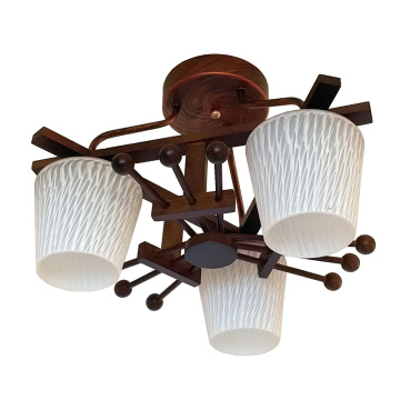 Plafonnier en bois Modern Lighting
