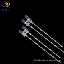 2017 hot style 5mm flat top led 850nm IR water clear