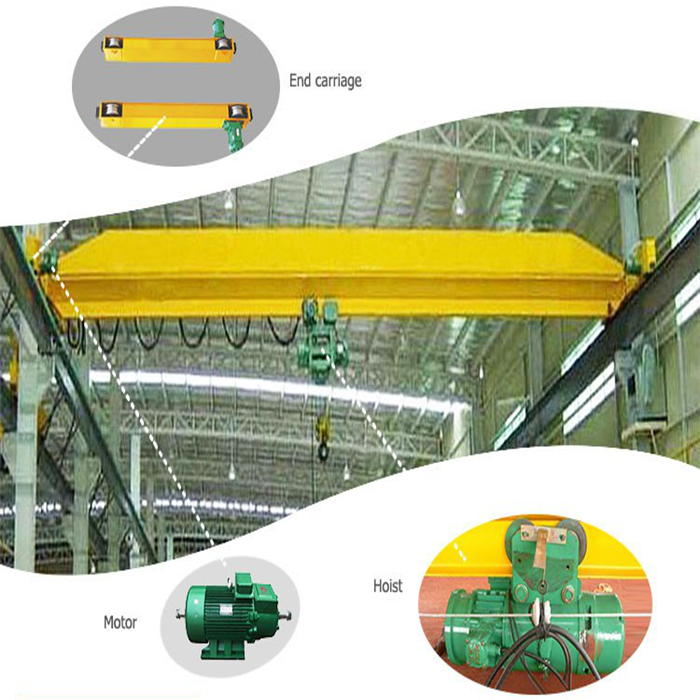 1 Ton Single Beam Eot Crane