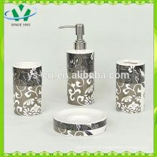 Caneca cerâmica do dente do banheiro do cilindro da dolomite