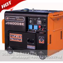 Портативный молчком тепловозный генератор 5kw