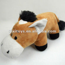lovely big mouth stuffed toy donkey