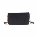 HEC New Design Black PU Material Credit Card Wallet For Women