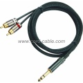 DR Serie Dual RCA Stereo Jack-Cinch-Kabel