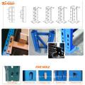 estante apilable de paleta resistente de altura ajustable para el almacén