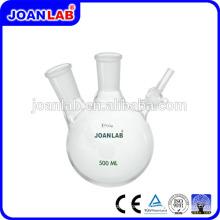 Лаборатории Джоан двумя Горловинами азота Склянка реакции с боковым краном