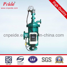 Self-Cleaning Water Filter System for Sea Water Treatment
