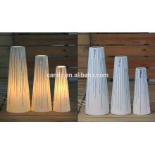 Белый и синий керамические домашнего стол Лампа