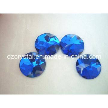 Runder Form Glasrhinestone