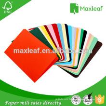 Matériel de dossier de couleur pour impression couleur A4 Papier et copie photo Copie du papier