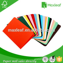 Color Folder Material for A4 Colored Printing Paper and Photo Copy Paper Supply