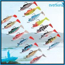 2′/3′/5′ Popular Soft Lead Fish Fishing Lure Fishing Tackle