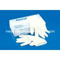 Luvas descartáveis de exame de látex médico (S, M, L, XL)