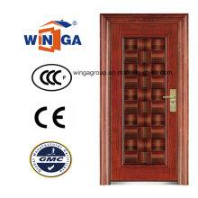 Puerta de acero de metal de acero de seguridad de mercado medio (WS-120)