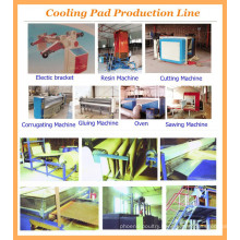 Leon series Evaporative cooling pad production line/cooling pad equipment