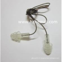 Bouchon d'oreille en silicone en forme de sapin en forme de noël