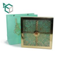 Оптовая коробка гравирует крышку упаковки чая ЛПС