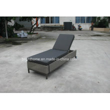 Wicker Outdoor Day Bed Sun Lounge with Cushion (BM-573)