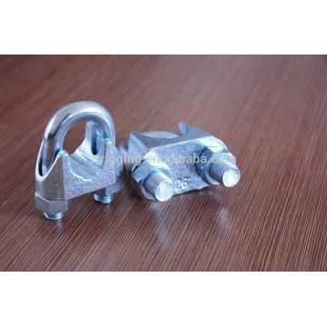 clip de cuerda de alambre forjado gota de acero al carbono