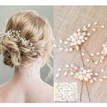 LADES 3 упак. Свадебные заколки для волос
