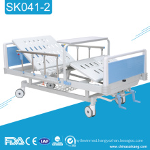 SK041-2 Three Function ABS Manual Hospital Bed With Commode