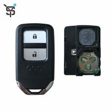 High quality black car remote key 2 button for Honda smart car remote key with 47 chip 433 MHZ YS100182